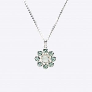 76-91528d-chalcedony-and-green-cz-flower-necklace
